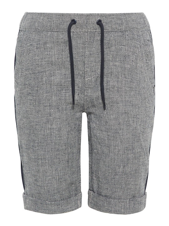 Long Shorts Twill grau