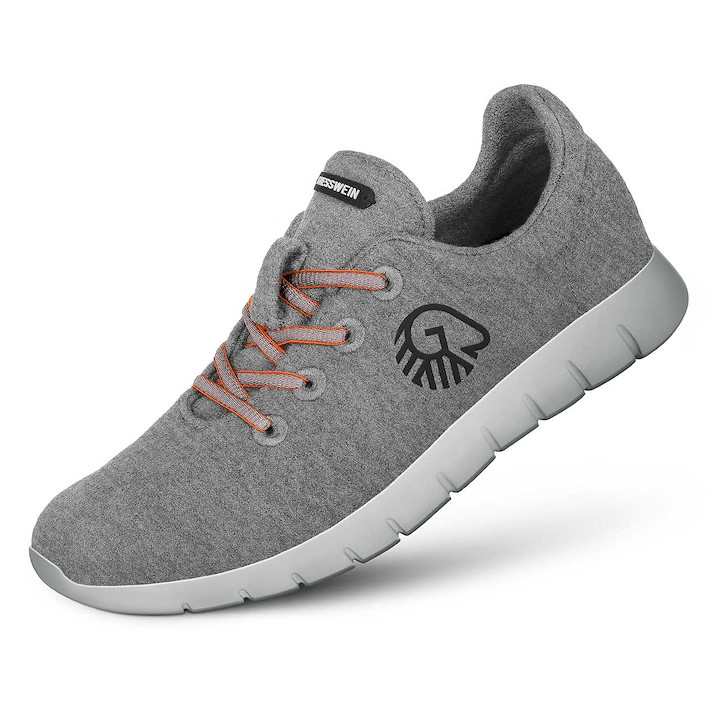 Merino Runners grau Woman
